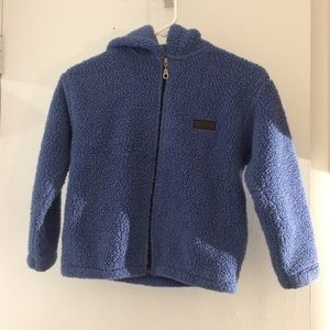 Other - BLUE FUZZY BOYS JACKET